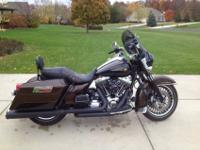 2013 Road King 110th Anniversary motorcycle, only has