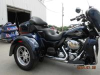 The Tri Glide Ultra Classic model is complete of all