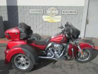 For 2013 the Tri Glide Ultra Classic trike comes in a