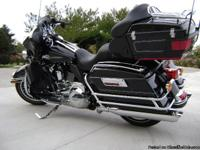 This Harley has it all, chrome front to back put 6.000