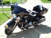 2013 ULTRA CLASSIC, BLACK, 103 CUBIC INCH MOTOR, 6