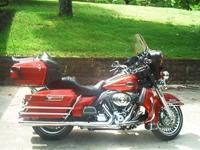 2013 Harley Davidson Ultra Classic Electra Glide Bike