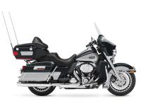 H-D touring motorcycles have additional features such