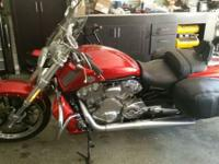2013 Harley Davidson VRSCF Muscle V-Rod. Vance and
