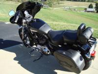 2013 Harley Davidson XL1200C Custom, 3,711 miles.Bought
