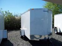 2013 Haulmark V Nose 6x10 Enclosed Trailer. (Ramp