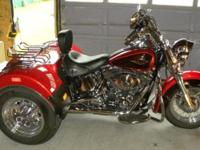 I have a 2013 HD Heritage Softtail Classic Trike. See