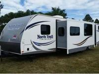 This is a 2013 Heartland North Trail Caliber 32BUDS