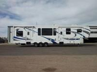 2013 Heartland Cyclone M3800 Toy Hauler. This gorgeous