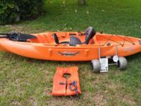 Lightly Used, and greatly cared for 2013 Hobie Mirage