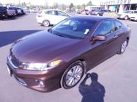 Only 1 previous owner on this 2013 Honda Accord Coupe