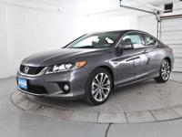 ATTRACTIVE 2013 CERTIFIED HONDA ACCORD EX-L COUPE! V6!