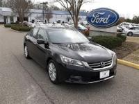 CLEAN CARFAX 1 OWNER VEHICLE 2013 HONDA ACCORD SEDAN EX