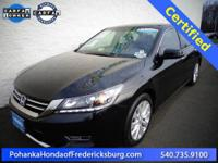 2013 Honda Accord EX-L***** Honda Certified, Black