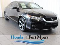 New Price! Crystal Black Pearl 2013 Honda Accord EX FWD