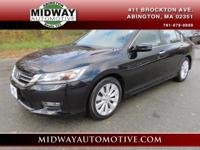 CARFAX One-Owner. Crystal Black Pearl 2013 Honda Accord