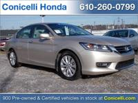 THIS Accord IS PRICED BELOW MARKET! -CERTIFIED- -ONE