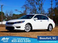 CARFAX One-Owner. White Orchid Pearl 2013 Honda Accord