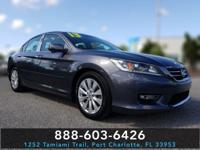CARFAX One-Owner. Modern Steel Metallic 2013 Honda