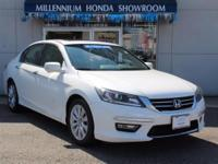 This Honda Certified Accord Sdn 4dr I4 CVT EX-L is