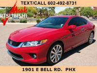 JUST ARRIVED ** ACCORD COUPE EX-L ** ONLY 34K MILES **