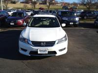 This outstanding example of a 2013 Honda Accord Sdn LX