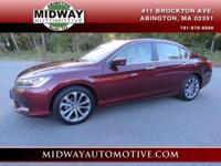 Basque Red Pearl II 2013 Honda Accord LX FWD CVT 2.4L