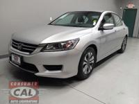 Options:  2013 Honda Accord 4Dr I4 Cvt Lx|4 Cylinder