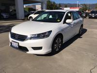 Options:  2013 Honda Accord Sdn Lx|White Orchid