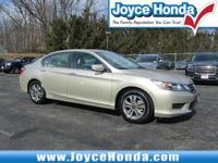 Recent Arrival! 2013 Honda Accord LX  Odometer is 10293