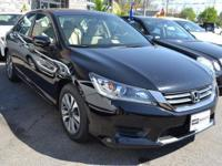 This 2013 Honda Accord Sedan 4dr 4dr I4 CVT LX features