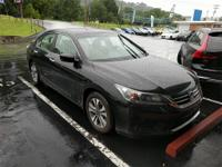 Recent Arrival! CARFAX One-Owner. 2013 Honda Accord LX
