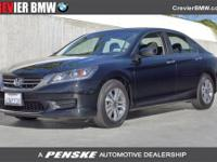 2013 Honda Accord Sdn 4dr I4 CVT LX Sedan