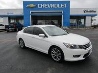 New Price! White 2013 Honda Accord Sport FWD CVT 2.4L