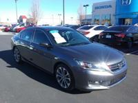 CARFAX One-Owner. Clean CARFAX. 2013 Honda Accord Sport