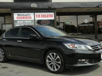 2013 Honda Accord Sport! WE FINANCE - 49k miles! Backup