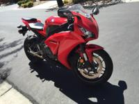 2013 Honda CBR 1000RR. Never dropped or down. Always