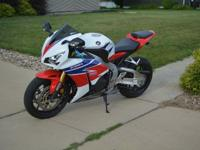 This is a really good adult riden CBR 1000RR HRC
