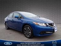 2013 Honda Civic EX sedan that is sporty with it`s rare