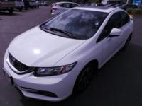 Only 8k miles on this one owner 2013 Honda Civic EX!