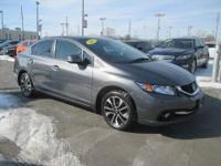 DEPENDABLE CIVIC ... LEATHER ... POWER MOON ROOF ...