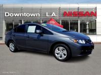 ~ ~ 2013 Honda Civic LX ~ ~ CARFAX: 1-Owner, Buy Back