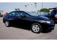 ~~ 2013 Honda Civic LX ~~ CARFAX: 1-Owner, Buy Back