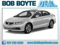 2013 Honda Civic EX For Sale.Features:ANTI-LOCK BRAKING