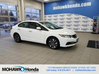 Recent Arrival! This 2013 Honda Civic EX in White