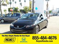 Options:  2013 Honda Civic Sdn Ex|Black/|V4 1.8L