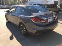 Options:  2013 Honda Civic Sdn Ex|Grey|Automatic|1.8L