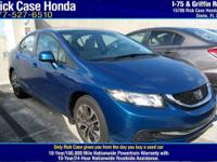 Options:  2013 Honda Civic Sdn Ex|/|V4 1.8L Automatic|0