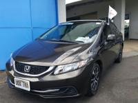 This 2013 Honda Civic Sdn EX is proudly offered by Big