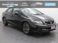 **Clean Carfax**, **Serviced At Sunset Honda**, **Great